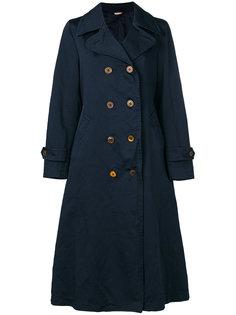 классическое пальто-тренч  Comme Des Garçons