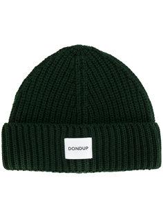 ребристая вязаная шапка Dondup