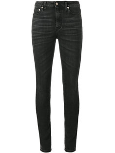 выбеленные джинсы скинни Saint Laurent