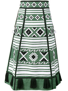 А-образная юбка с вышивкой Croatia Vita Kin