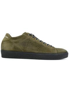 кроссовки со шнуровкой Leather Crown