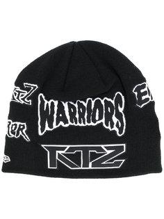 шапка-бини с нашивками KTZ