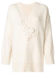 свитер с V-образным вырезом Delpozo