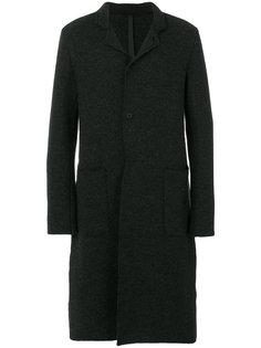 приталенное классическое пальто  Poème Bohémien