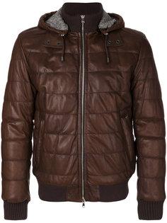 стеганая куртка-бомбер   Barba