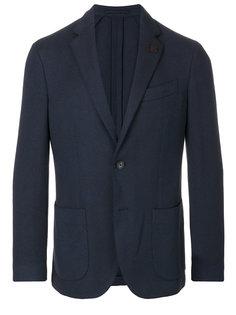 классический приталенный пиджак Lardini