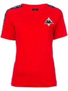 футболка Kappa с логотипом  Marcelo Burlon County Of Milan