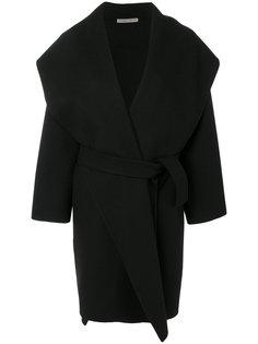 пальто с поясом Bottega Veneta