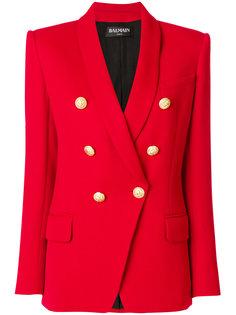 пиджак с пуговицами с тиснением Balmain