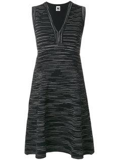 платье без рукавов с V-образным вырезом M Missoni