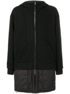 многослойное пальто с капюшоном Juun.J