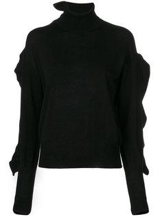 свитер с оборочной отделкой Laneus