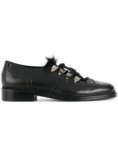 туфли со шнуровкой Toga Virilis