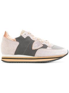 кроссовки с контрастными вставками Philippe Model