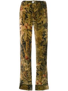 брюки с античным цветочным узором F.R.S For Restless Sleepers