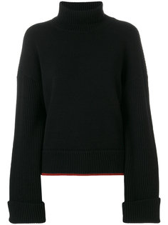 свитер с высоким воротником с ребристой фактурой Dsquared2
