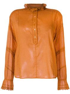 рубашка с вышивкой Louna Isabel Marant Étoile