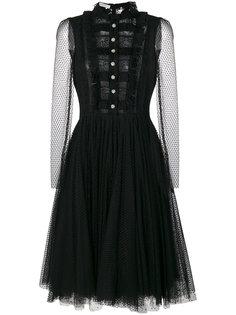 платье из кружева и тюля  Philosophy Di Lorenzo Serafini