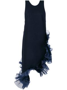 асимметричное платье с оборкой  Roberts Wood