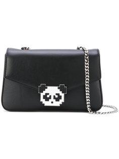 сумка на плечо с декором в виде панды Les Petits Joueurs