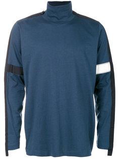 свитер с отворотной горловиной Oamc