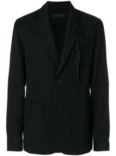 пиджак мешковатого кроя Ann Demeulemeester Grise