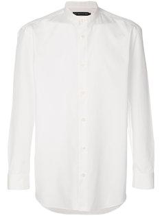 рубашка с узким воротником-стойкой Issey Miyake Men