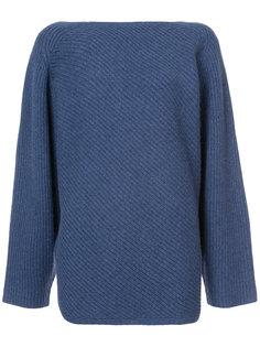 свитер с воротом лодочкой Derek Lam