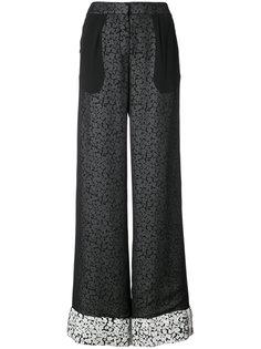 двухслойные широкие брюки Derek Lam