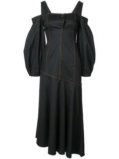 платье с открытыми плечами Ellery