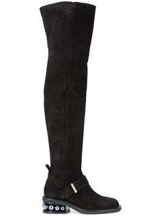 ботинки с заклепками Nicholas Kirkwood