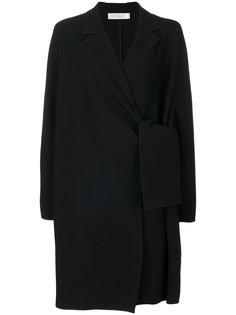 пальто с боковой застежкой на завязку Victoria Victoria Beckham