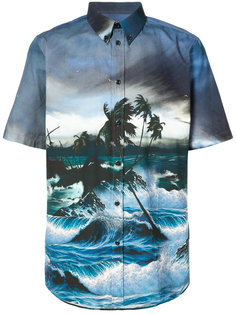 рубашка с гавайским принтом Givenchy