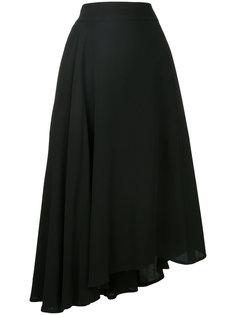 асимметричная пышная юбка  Yohji Yamamoto Vintage