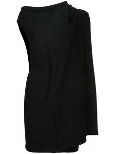 асимметричное многослойное платье  Yohji Yamamoto Vintage
