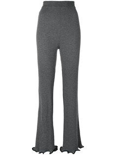 брюки с оборками  Stella McCartney