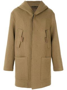 пальто с капюшоном Jil Sander
