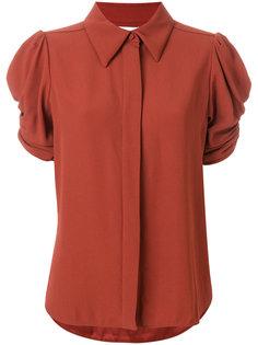 блузка с присборенными рукавами Chloé