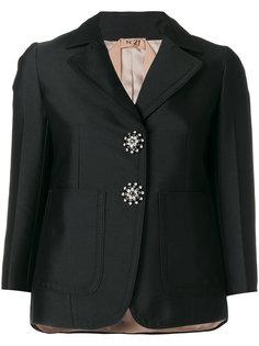 пиджак с декорированными пуговицами Nº21