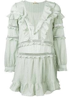 платье Ziggy с декоративными складками For Love And Lemons