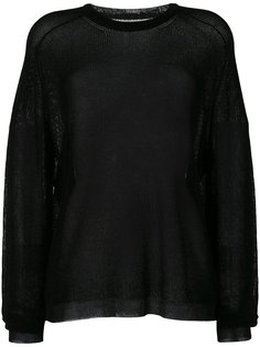 прозрачный свитер Laneus