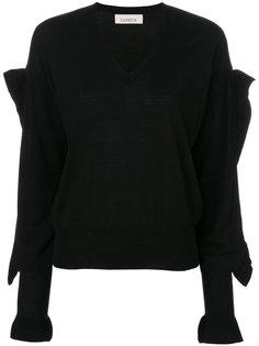 декорированный свитер с V-образным вырезом  Laneus