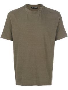 футболка с двойной горловиной Neil Barrett