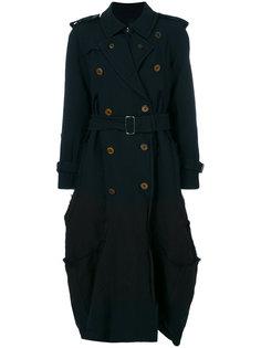 однобортное пальто Comme Des Garçons