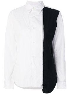 рубашка с контрастной панелью Comme Des Garçons Comme Des Garçons