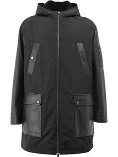 пальто на молнии с меховой подкладкой Drome