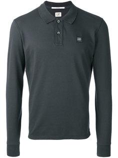 футболка-поло с длинными рукавами CP Company