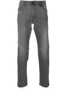 джинсы с необработанными краями Diesel