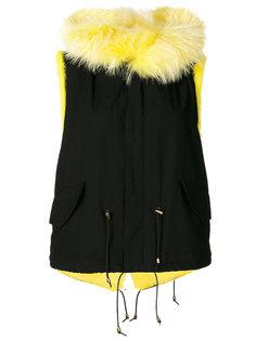 пальто мини с капюшоном  Furs66