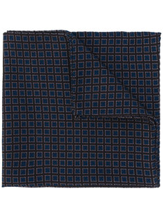 нагрудный платок с принтом маленьких квадратов Lardini